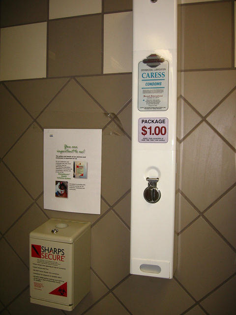 Requisite Condom Dispenser