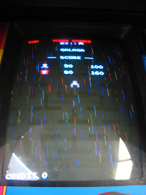 Galaga! Or... it tried to give us Galaga...